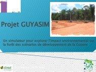 Projet Guyasim visant à évaluer l'impact d'aménagement potentiels ...