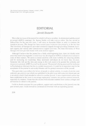 Editorial Bozarth PCJ 3_1.pdf - ADPCA