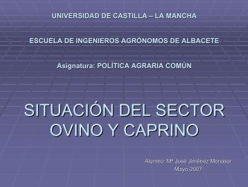 OCM Ovino y Caprino - Universidad de Castilla-La Mancha