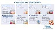 Produktval vid olika sjukdomstillstånd - Nestlé Nutrition