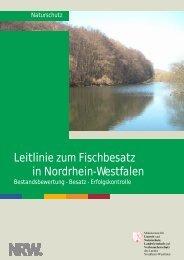 Leitlinie zum Fischbesatz in Nordrhein-Westfalen - Ministerium für ...