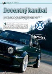 Hardcore: VW Golf II turbo 16V - AutoTuning.sk