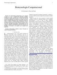 Biotecnología Computacional