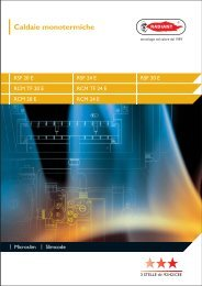 Caldaie monotermiche - Certificazione energetica edifici