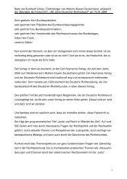 Rede von Burkhard Schulz, Chefverleger von Wolters Kluwer ...
