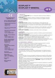 ecoplast p 01/10 - Italiana Membrane