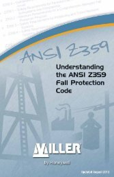 Understanding the ANSI Z359 - Miller Fall Protection