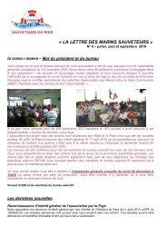FEPSM - 2010 n6 - Juillet aout septembre.pdf - Haut-Commissariat ...
