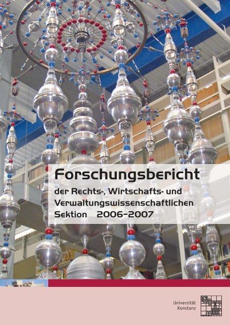 Forschungsbericht - Universität Konstanz