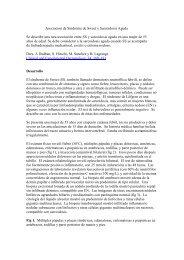 Asociacion de Sindrome de Sweet y Sarcoidosis Aguda - Revista de ...