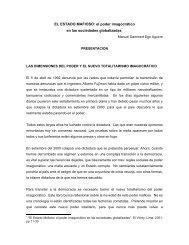 FUJIMORI - MONTESINOS - Cholonautas