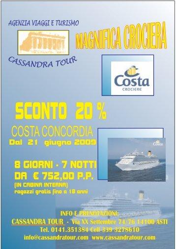 CASSANDRA A4 - Cassandra Tour