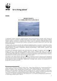biodiversità e cambiamento climatico - Consumi amici del clima