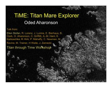 TiME: Titan Mare Explorer