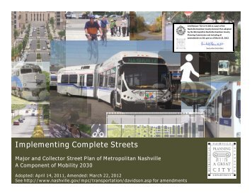 Implementing Complete Streets - Smart Growth America