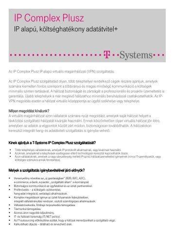 IP Complex Plusz - T-Systems