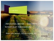 Knowledged based bio towards 2020 - Dansk Biotek