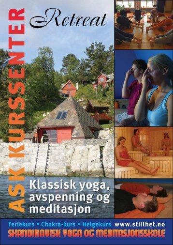 Brosjyre for Ask kurssenter - Skandinavisk yoga- og ...