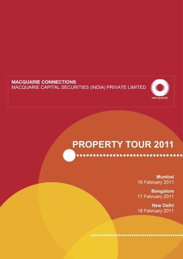PROPERTY TOUR 2011 - Macquarie