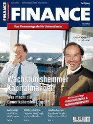 Finance - April 2005 - Klein & Coll.