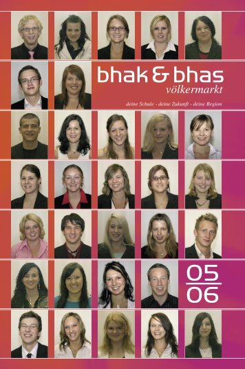 BHAK/BHAS Völkermarkt - Jahresbericht 2006 - HAK in Völkermarkt