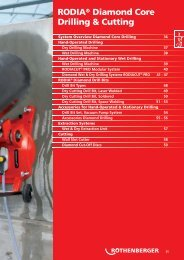 RODIA® Diamond Core Drilling & Cutting