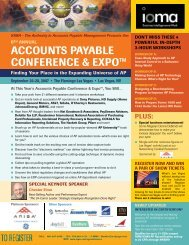 Download the brochure here! - The Accounts Payable Network
