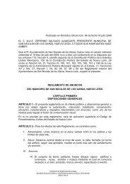 Reglamento de Anuncios del Municipio de San Nicolás de los ...