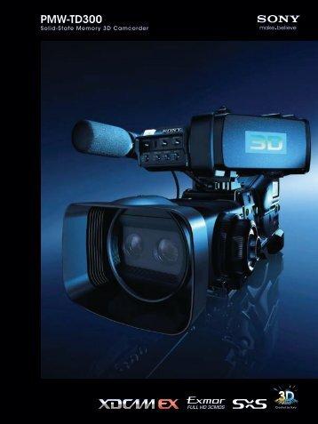 PMW-TD300 - Sony