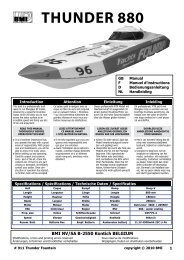 THUNDER 880 - BMI-models