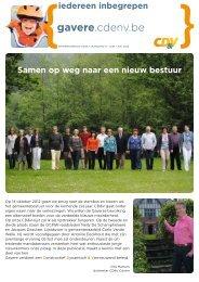 Eetfestijn CD&V Gavere