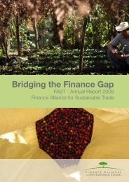 FAST Annual Report 2009.pdf - Finance Alliance for Sustainable ...