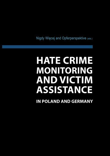 """hate crime and victim - Stiftung """"Erinnerung, Verantwortung und ..."""