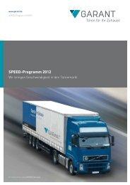 SPEED-Programm 2012 - ZEG Zentraleinkauf Holz und Kunststoff eG