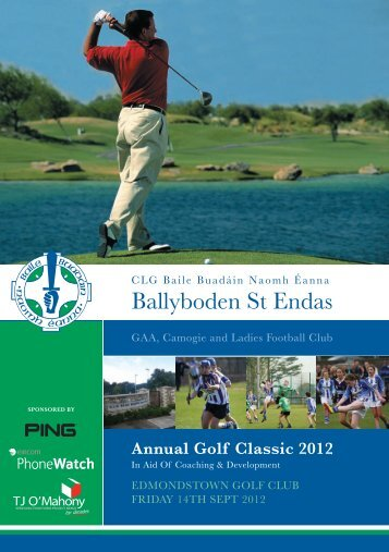 booking form - Ballyboden St. Enda's GAA