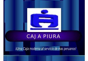 El Crédito Agropecuario en la CMAC Piura. - Riesgo y Cambio ...