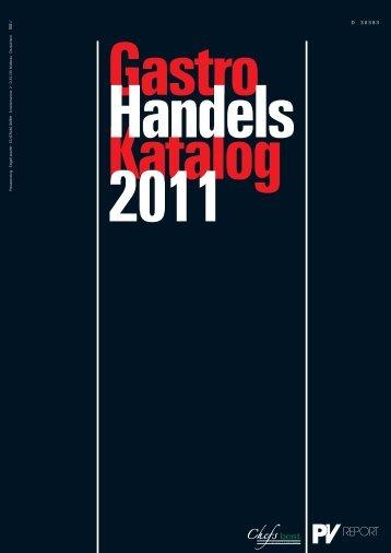 Gastro Katalog Handels  2011 - Zieher.com