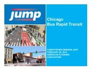 Chicago Bus Rapid Transit - American Planning Association
