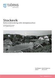Stockevik - Tjörns kommun