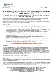 Private Equity-Backed Buyout Exits Reach Highest ... - Preqin