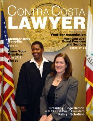 Lawyer - Contra Costa County Bar Association