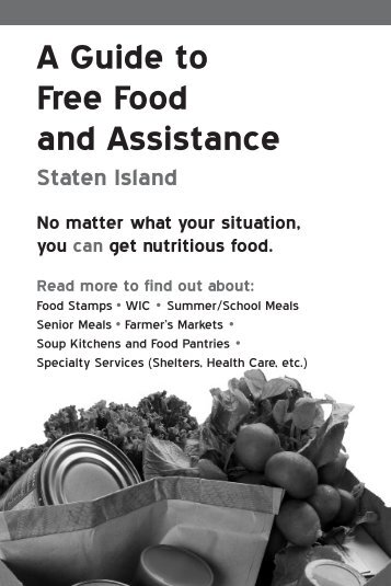 A Guide to Free Food and Assistance - New York City Coalition ...