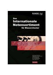Die besondere Adresse für Musiknoten - Musikverlag Rundel GmbH