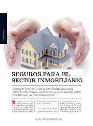 Seguros para el sector inmobiliario - Ekos Negocios