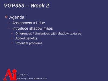 Shadow Maps - FreeDesktop.Org