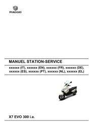 MANUEL STATION- SERVICE X7 EVO 300 ie - L'erreur 404 est un ...