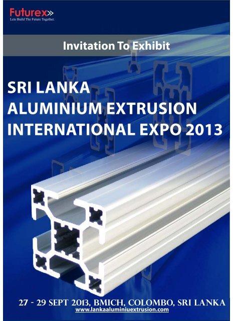 e - broucher - The Sri Lanka Aluminium Extrusion Expo 2013