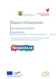 Rapport d'évaluation - Poliglotti 4