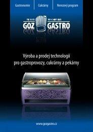 nový prospektový materiál - GOZ GASTRO sro