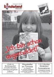 Pfingsten 2010 im Feriendorf 22.-24.Mai - Kinderland Steiermark